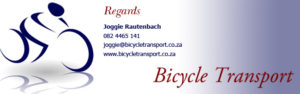 PE Plett | bycicle transport joggie